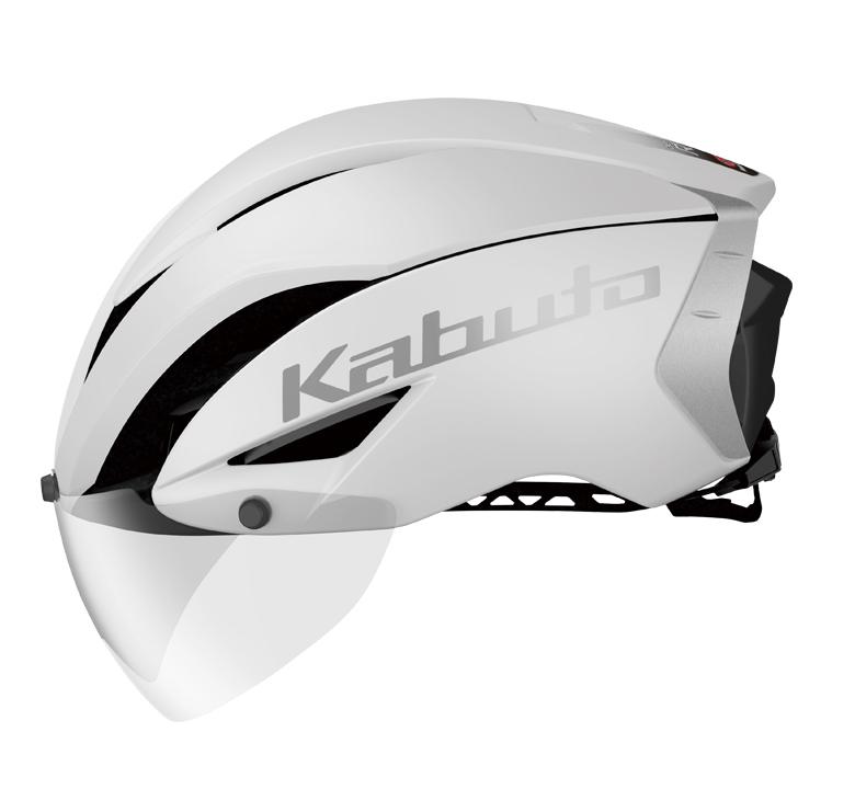 OGK KABUTO(オージーケーカブト) AERO-R1 TR マットホワイト L/XL