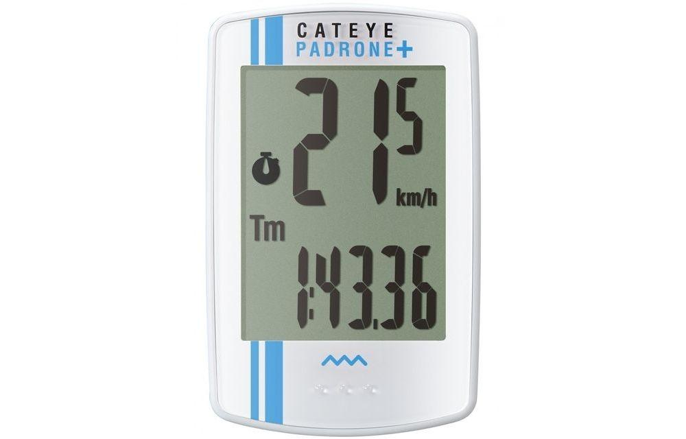 CAT-EYE(キャットアイ)CC-PA110W PADRONE+ ホワイト/ブルーストライプ