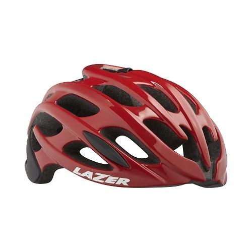 LAZER(レーザー) ヘルメット BLADE+ AF(アジアンフィット) レッド / ブラック M(55-59cm)