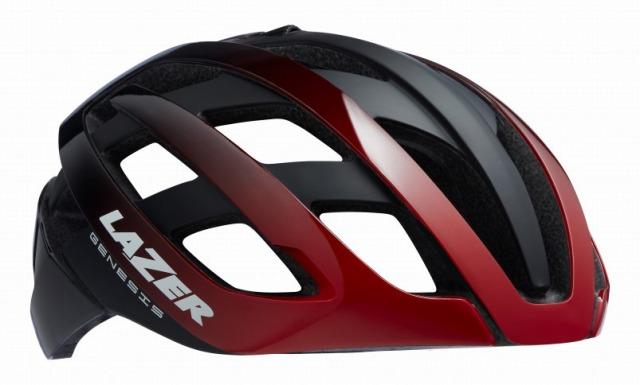 LAZER(レーザー) ヘルメット GENESIS AF(アジアンフィット) レッド / ブラック L(58-61cm)