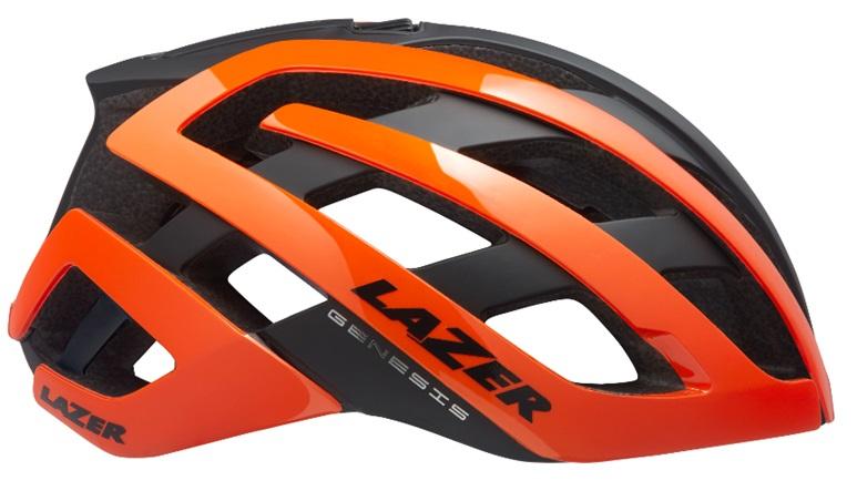 LAZER(レーザー) ヘルメット GENESIS AF(アジアンフィット) フラッシュオレンジ L(58-61cm)