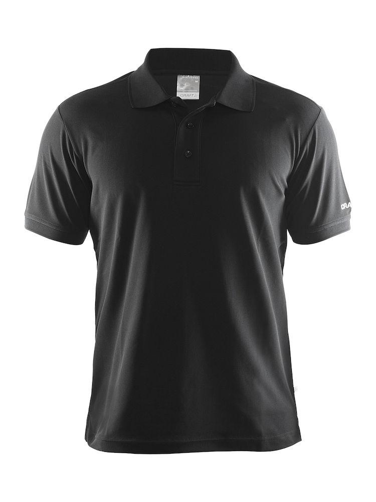 CRAFT(クラフト) POLO SHIRTS PIQUE CLASSIC ( ポロシャツ ピケ クラシック ) ブラック XS