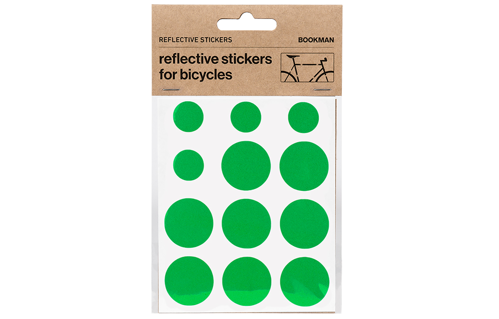 BOOKMAN STICKY REFLECTORS