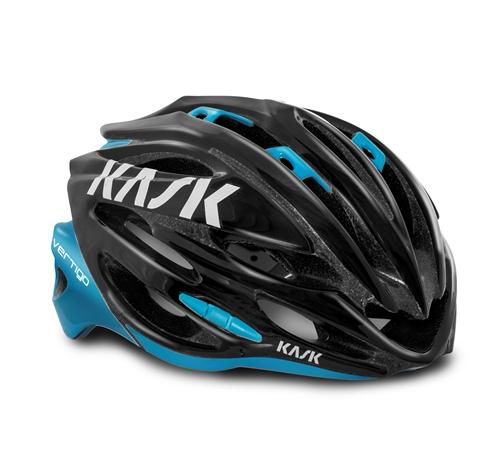 KASK(カスク)VERTIGO 2.0 ブラック/ライトブルー M