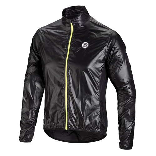 BICYCLELINE(バイシクルライン)WIND PROOF JACKET FIANDRE ブラック S