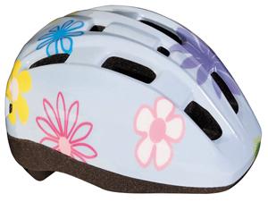 BBB(ビービービー)BHE-45 ヘルメット ミニフラワー ブルー ユニ