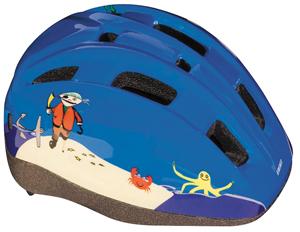 BBB(ビービービー)BHE-46 ヘルメット ミニパイレーツ ブルー ユニ