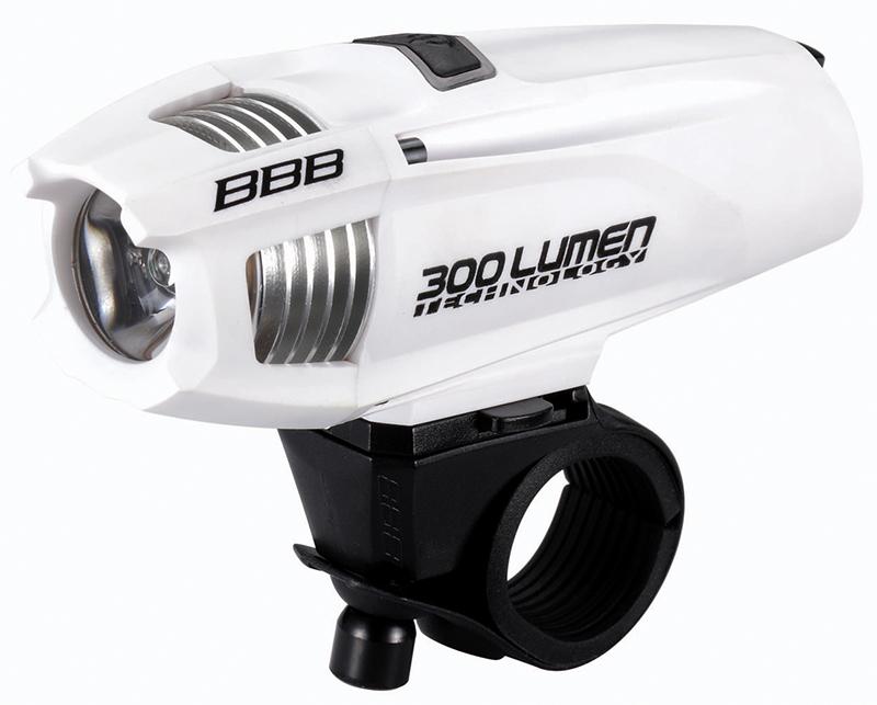 BBB(ビービービー)ストライク300 ヘッドライト LED リチャージブル リチウムイオン バッテリー