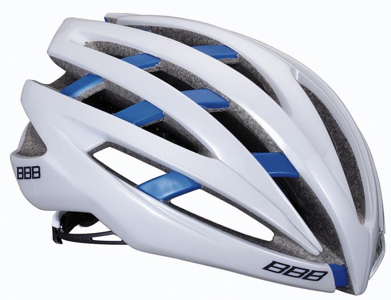 BBB(ビービービー)ヘルメット イカロス ホワイト/ブルー M