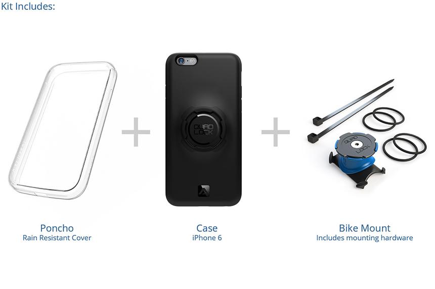 自転車 バイク キット - iPhone 6/6S用