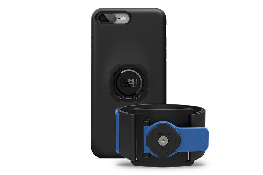 QUAD LOCK(クアッドロック)ランニング キット iPhone 7/8 PLUS用