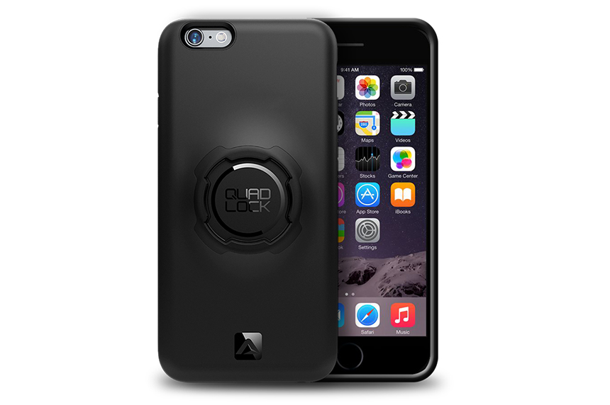 QUAD LOCK(クアッドロック)TPU・ポリカーボネイト製ケース iPhone 6/6S用