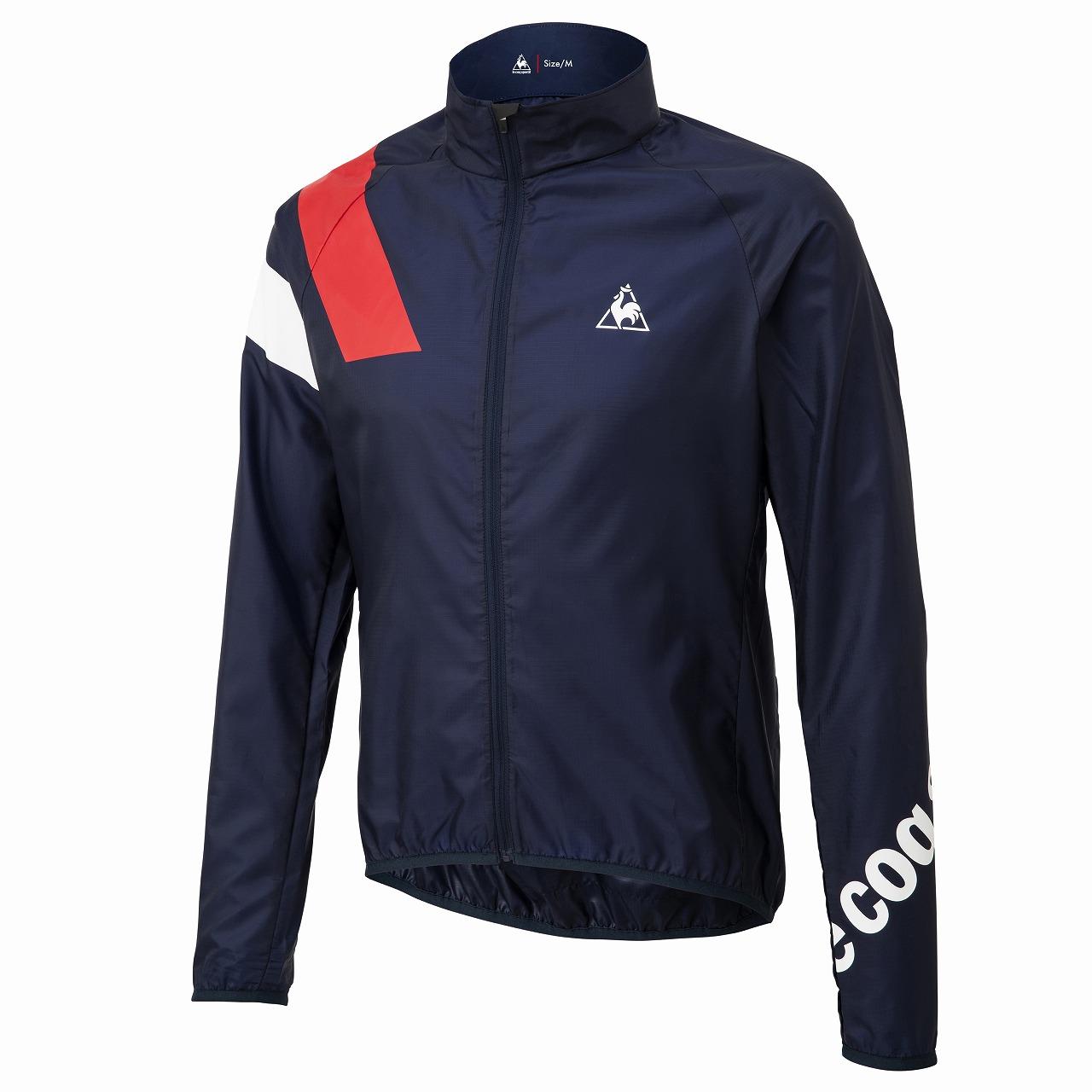 Le coq sportif ( ルコックスポルティフ ) 20SS QCMPGC21 CLEAR JACKET ジャケット ネイビー M