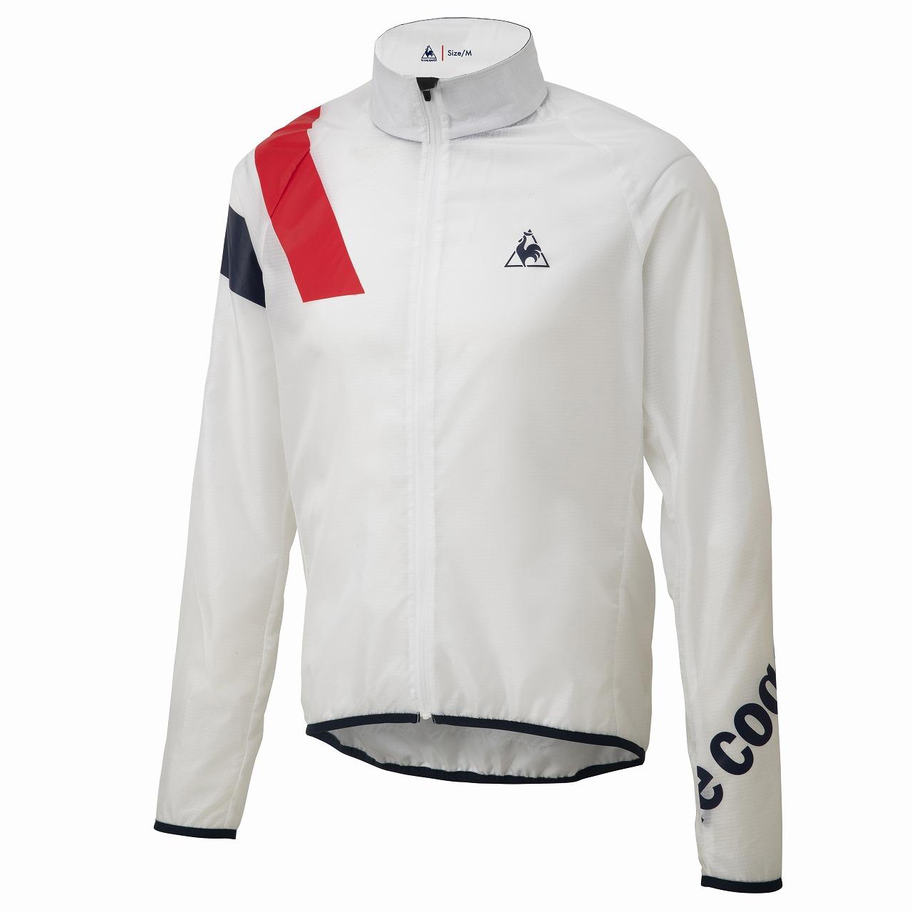 Le coq sportif ( ルコックスポルティフ ) 20SS QCMPGC21 CLEAR JACKET ジャケット ホワイト L