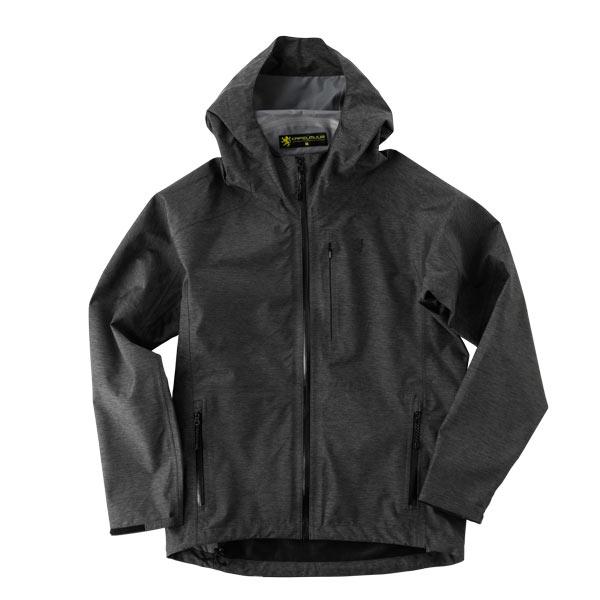 ウォータープルーフ ライトジャケット 杢グレー