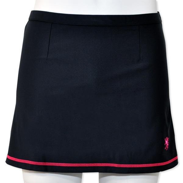 KAPELMUUR(カペルミュール)ストレッチサイクルスカート ブラック/ピンク F