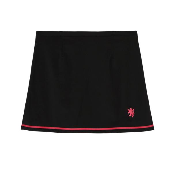ストレッチウォームスカート ブラック/ピンク