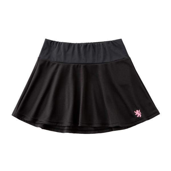 KAPELMUUR(カペルミュール)フレアスカート ブラック/ピンク S