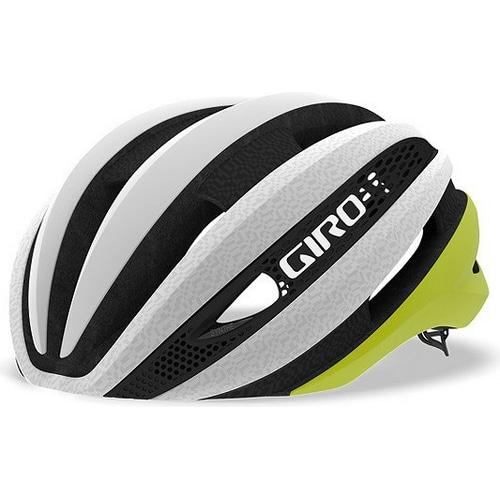 GIRO ( ジロ ) ヘルメット SYNTHE MIPS ASIAN FIT ( シンセ ミップス アジアンフィット ) マット シトロン ホワイト M