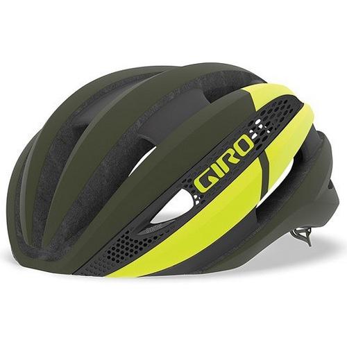 GIRO ( ジロ ) ヘルメット SYNTHE MIPS ASIAN FIT ( シンセ ミップス アジアンフィット ) マット オリーブ シトロン S