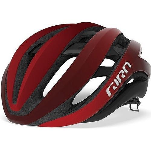 GIRO ( ジロ ) ヘルメット AETHER MIPS ASIAN FIT ( エーテル ミップス アジアンフィット ) マット ブライト レッド / ダーク レッド S
