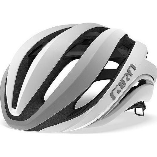 GIRO ( ジロ ) ヘルメット AETHER MIPS ASIAN FIT ( エーテル ミップス アジアンフィット ) マット ホワイト / シルバー S
