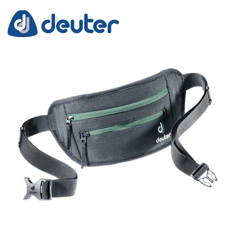 DEUTER ( ドイター ) ヒップバッグ ネオベルト�T ブラック - シーグリーン ( ブラック - グリーン )