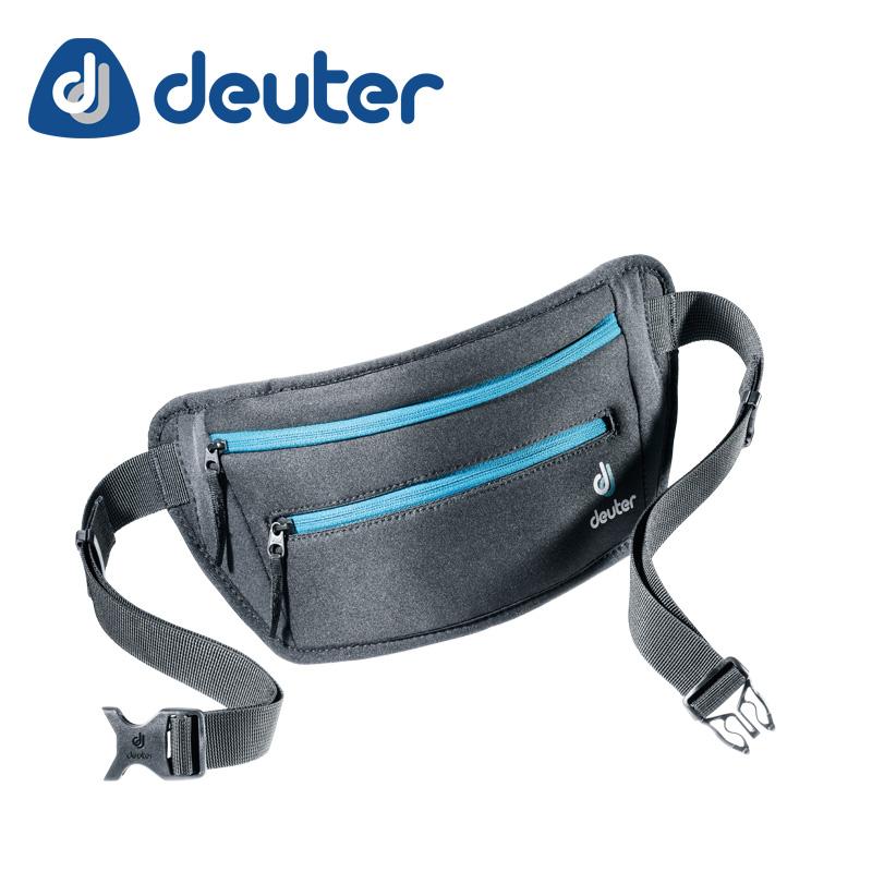 DEUTER ( ドイター ) ヒップバッグ ネオベルト�U ブラック - アズール ( ブラック - ブルー )