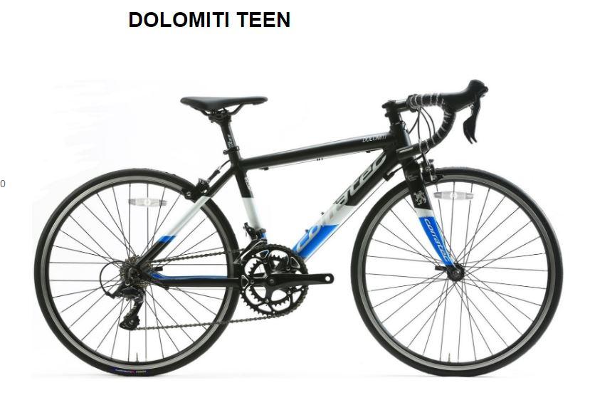 CORRATEC ( コラテック ) ロードバイク DOLOMITI TEEN ( ドロミテ ティーン ) マット ブラック / ホワイト / ブルー 38