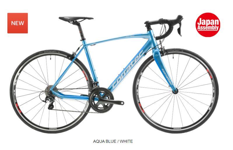 CORRATEC ( コラテック ) ロードバイク DOLOMITI 105 RS100  ( ドロミテ 105 RS100  ) アクア ブルー / ホワイト 42