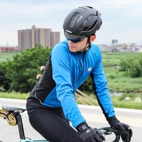 BICYCLELINE(バイシクルライン) 冬用ジャケット FIANDRE ブルー S