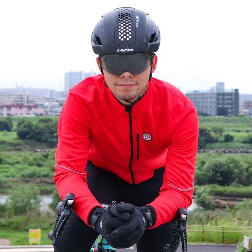 BICYCLELINE(バイシクルライン) 冬用ジャケット BRETAGNA レッド S