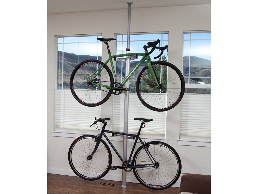 FEEDBACK VELO CACHE 2-BIKE COLUMN {SIL}