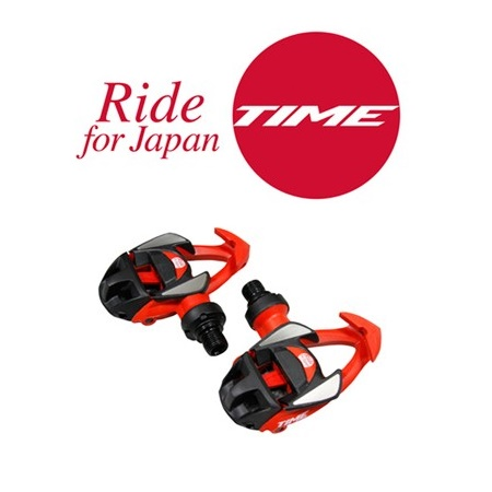 TIME ペダル アイクリック2レーサーRide for Japan【限定】