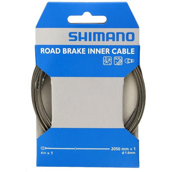 シマノ ロードSUSブレーキインナーケーブル (1.6X2050)