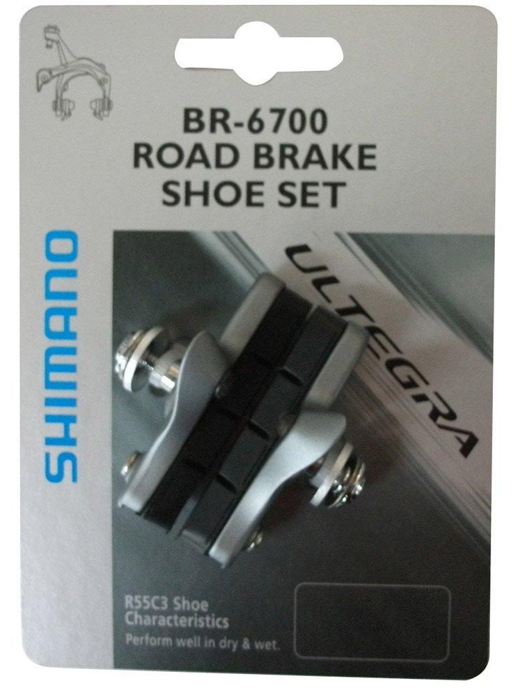 SHIMANO(シマノ)R55C3(BR-6700G)カートリッジブレーキシューセット (ペア)