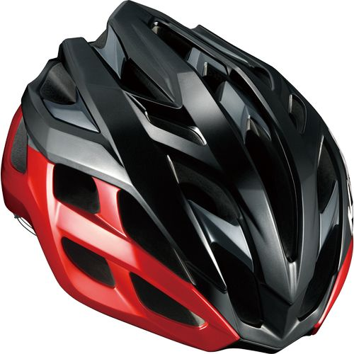 OGK KABUTO ( オージーケーカブト ) スポーツヘルメット VOLZZA ( ヴォルツァ ) ブラックレッド S/M