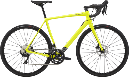 CANNONDALE ( キャノンデール ) ロードバイク Synapse Carbon Disc 105 シナプス カーボン ディスク 105 NYW - ニュークリアイエロー 54