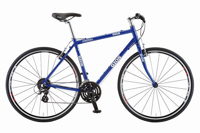 GIOS ( ジオス ) クロスバイク MISTRAL ( ミストラル ) ジオス ブルー 480 ( 適正身長 165-180cm )