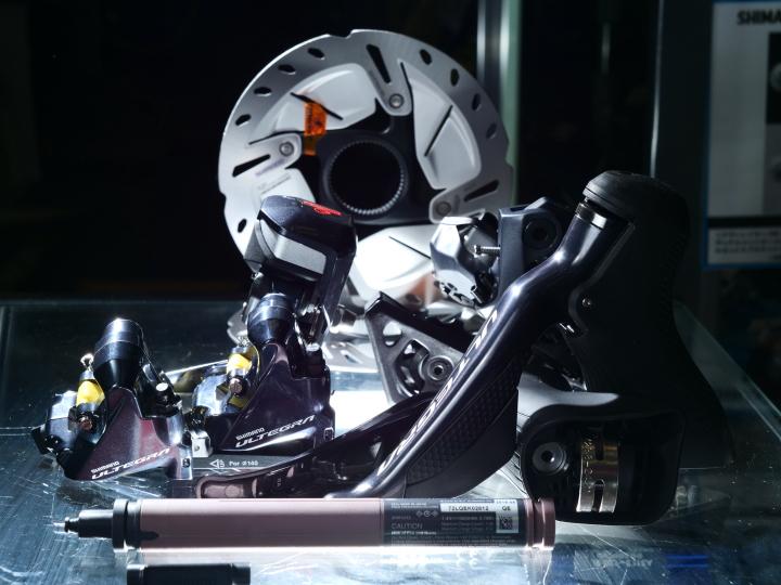 SHIMANO ( シマノ ) ULTEGRA R8070 DISC DI2アップグレード7点キット SS