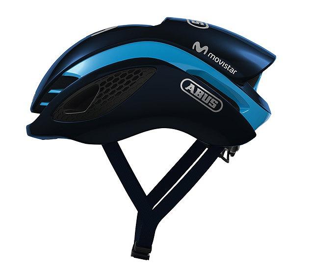 ABUS ( アブス ) スポーツヘルメット GAMECHANGER ( ゲームチェンジャー ) MOVISTAR ネイビー/グリーン M