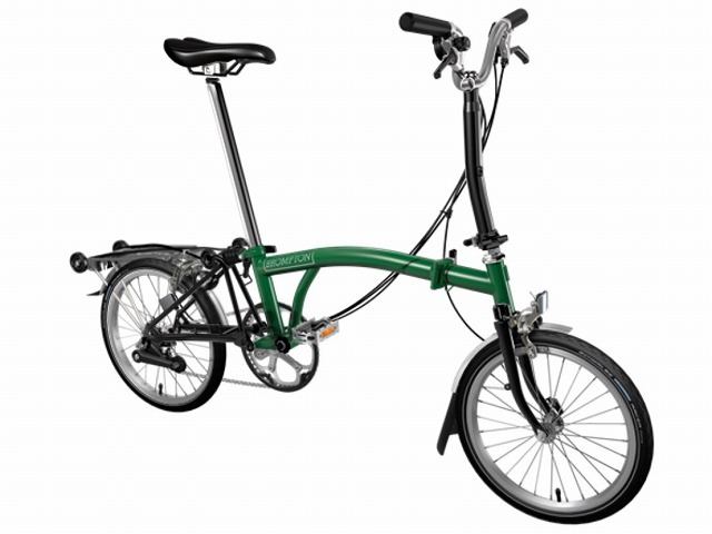 BROMPTON ( ブロンプトン ) 折りたたみ自転車 21年モデル M6R レーシンググリーン/ブラック