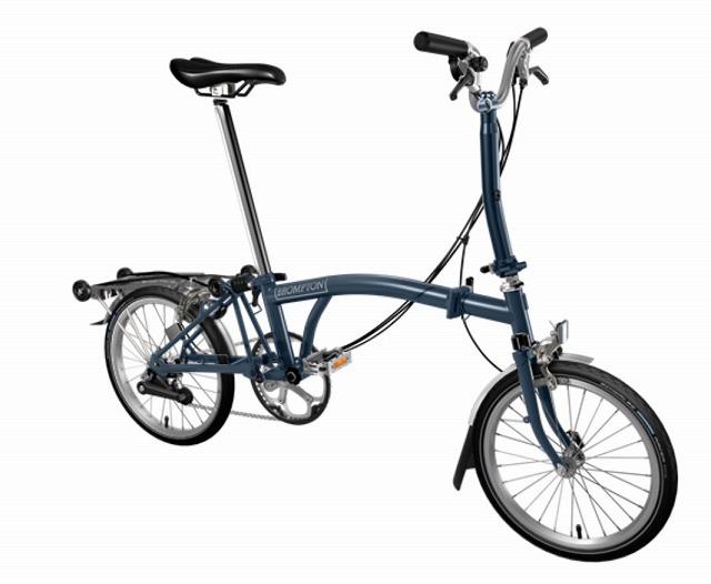 BROMPTON ( ブロンプトン ) 折りたたみ自転車 20年モデル M6R テンペストブルー