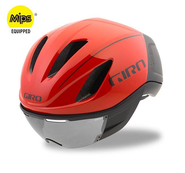 GIRO ( ジロ ) ヘルメット VANQUISH MIPS ASIAN FIT ( ヴァンキッシュ ミップス アジアンフィット ) レッド / ブラック L