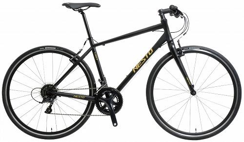 NESTO ( ネスト ) クロスバイク LIMIT ( リミット ) 1 マット ブラック 400