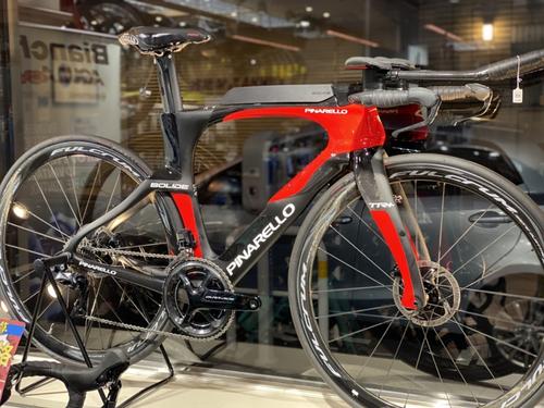 PINARELLO ( ピナレロ ) トライアスロンバイク BOLIDE TR+ DA DI2 ( ボリデ TR+ DA DI2 ) 829 カーボン / レッド 485mm(適正身長170cm前後)