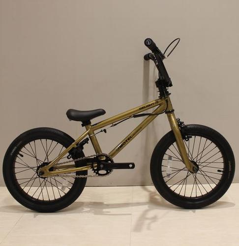 MOTEL WORKS ( モーテル ワークス ) キッズバイク DELIGHT-E ( デライト ) ゴールド 適正身長:110cm - 135cm