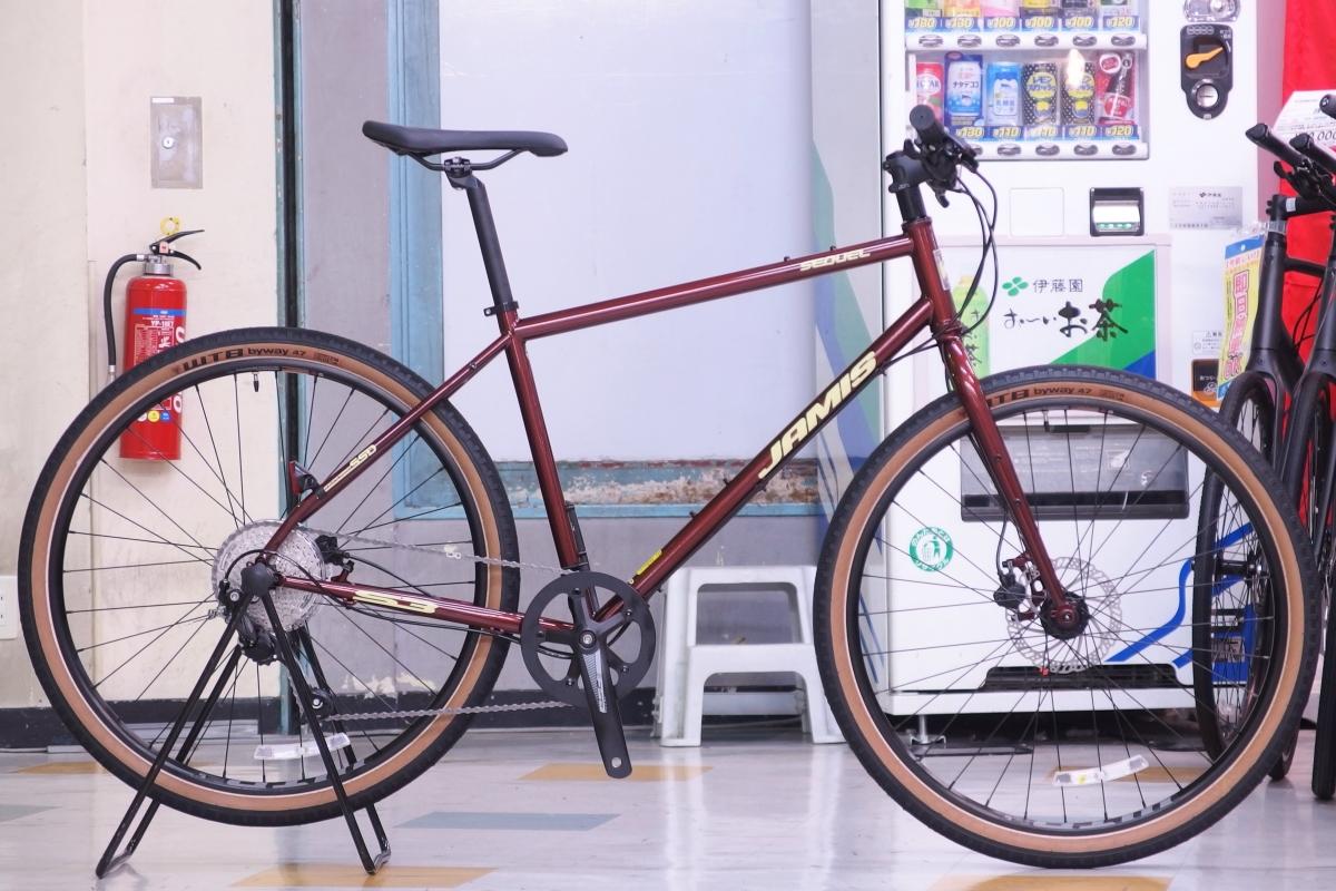 JAMIS ( ジェイミス ) クロスバイク 2020 SEQUEL S3 ルートビア 19