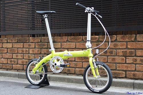 DAHON ( ダホン ) 折りたたみ自転車 DOVE PLUS ( ダヴ プラス ) グリーン