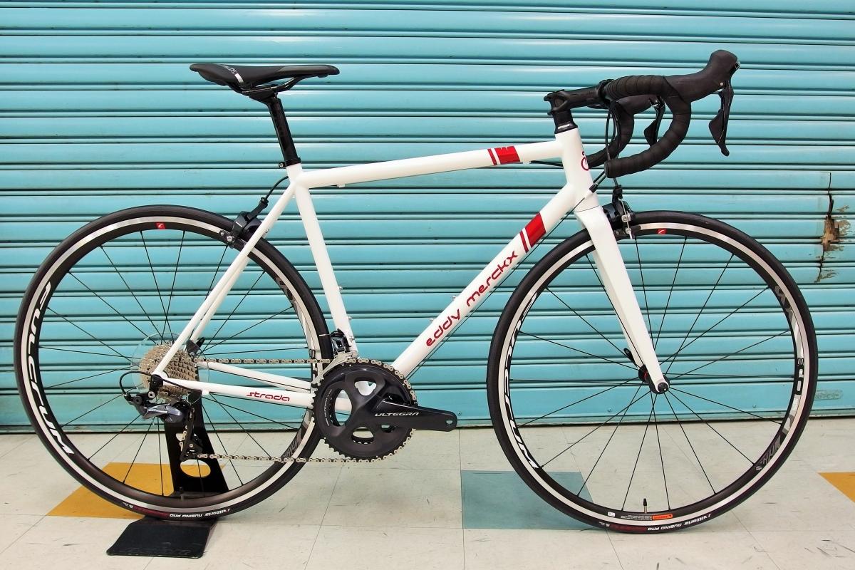 EDDY MERCKX ( エディ メルクス ) ロードバイク 2020 STRADA ULTEGRA MIX ホワイト/レッド S